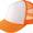123蛍光オレンジ×ホワイト