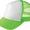 124蛍光グリーン×ホワイト