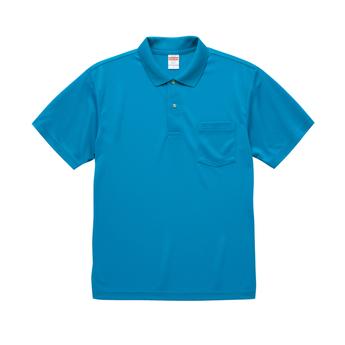 5912-01 ドライアスレチック ポロシャツ(ポケット付)サムネイル