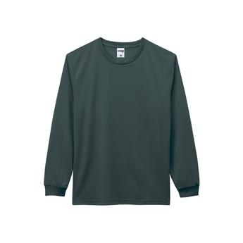 MS1609 ドライロングスリーブTシャツ(ポリジン加工)サムネイル