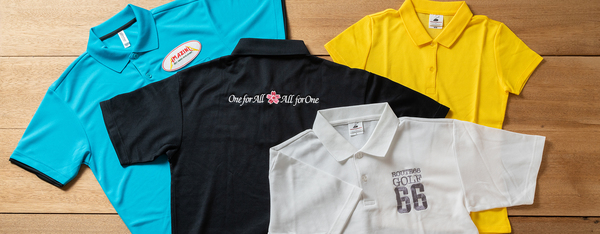 オリジナルポロシャツの製作サムネイル