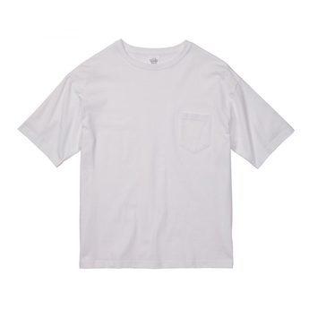 5008-01 ビッグシルエット Tシャツ (ポケット付)サムネイル